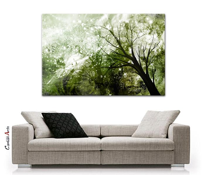 natur abstrakt leinwand bild auf keilrahmen kunstdruck. Black Bedroom Furniture Sets. Home Design Ideas